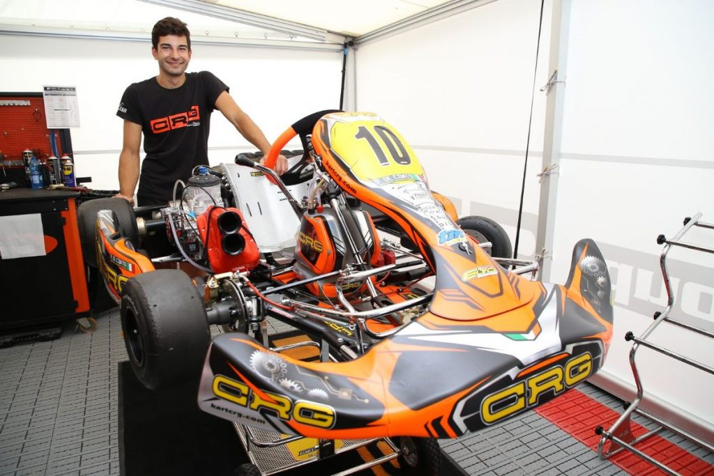 CRG the highest-represented manufacturer at Lonato's FIA Karting World Championship