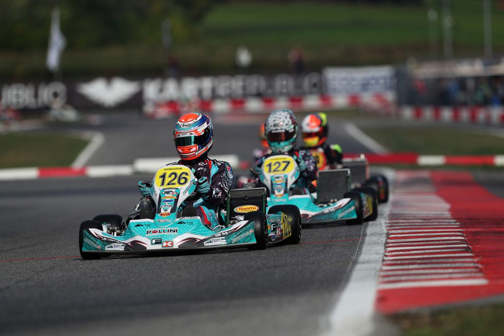 WSK Open Cup Round 1 – Friday: Pollini, Smal, Antonelli & Tsolov straight on pace