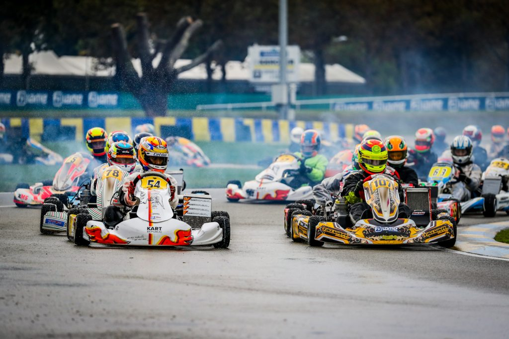 IAME International Final – Wednesday: New leaders after the opening heats