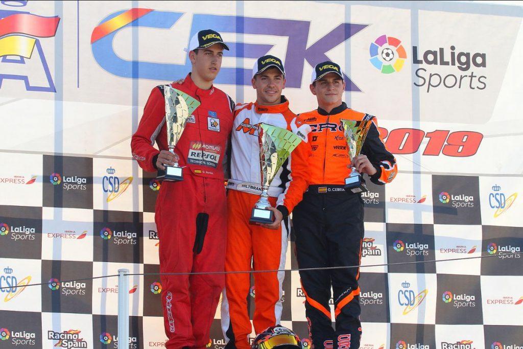 CRG: Hiltbrand & Fontecha champions of Spain!