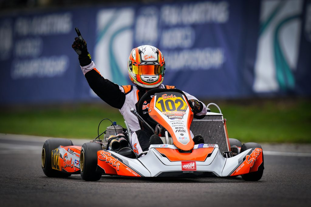 From leisure karts to KZ2 glory: The story of Emilien Denner's meteoric rise