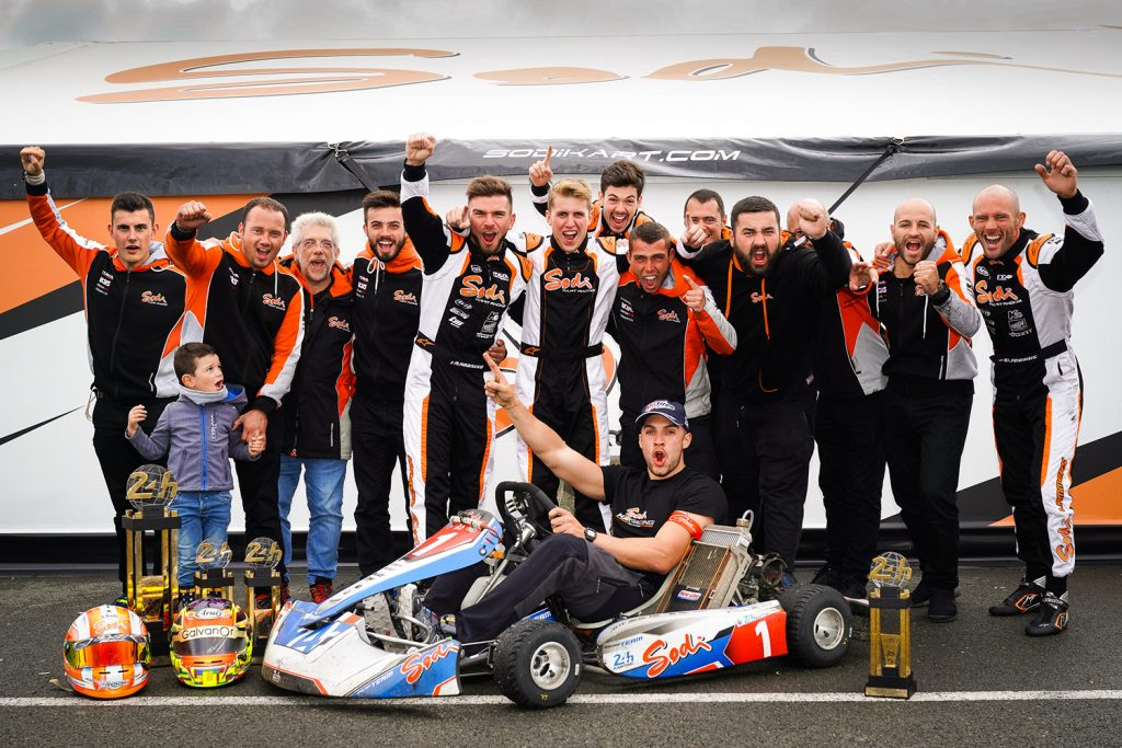 Sodikart: Continued success at Le Mans 24 Hours Karting