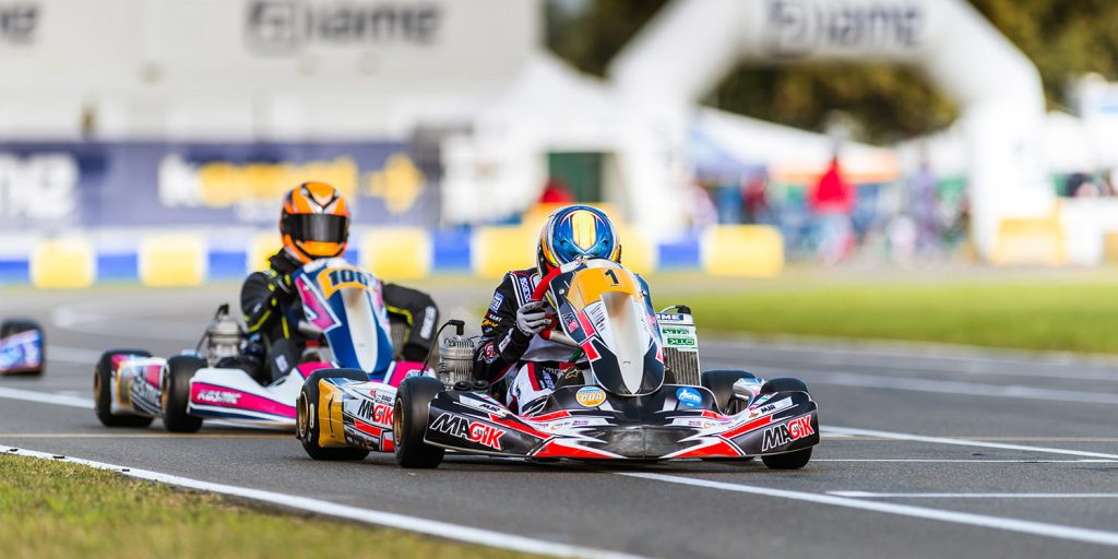 IAME International Final – Tuesday: Rain disrupts early qualifying sessions