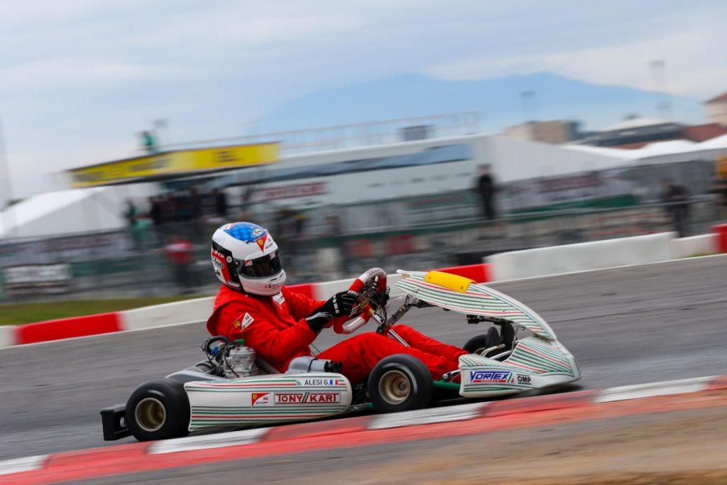 Ferrari Driver Academy's Alesi & Schumacher on track with Tony Kart