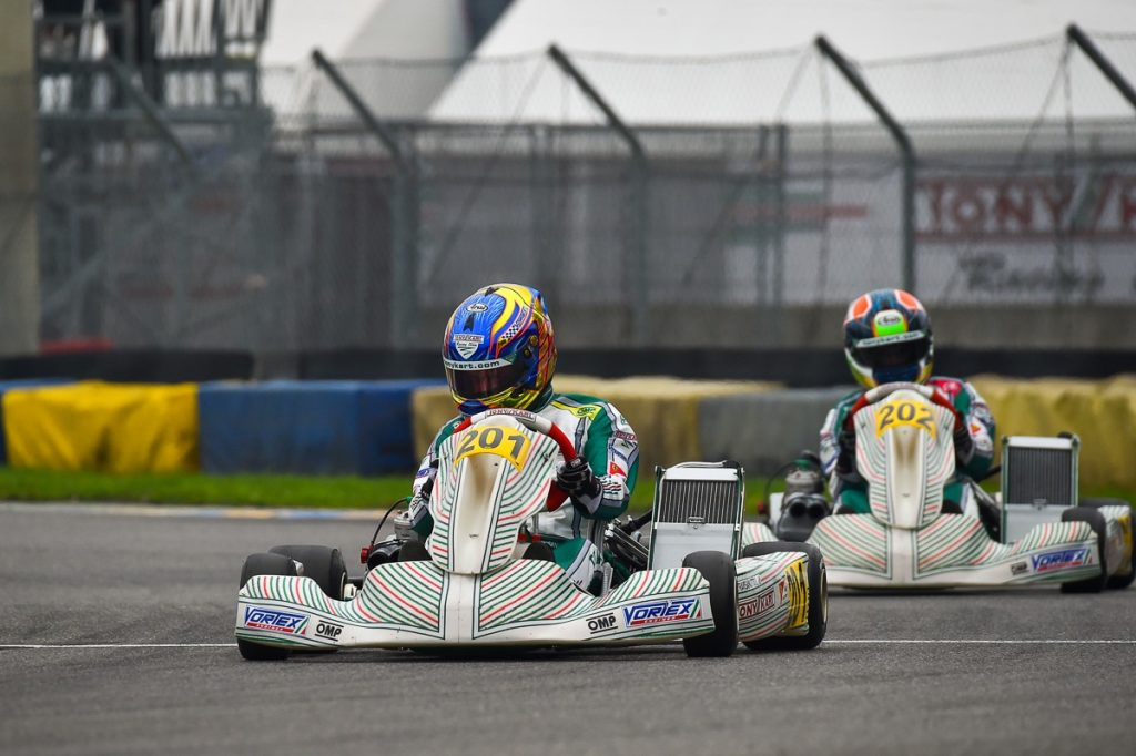 Tony Kart: One last round in the WSK season at Adria
