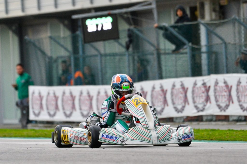 Tony Kart: Hiltbrand leads a triple Final Cup podium at Adria