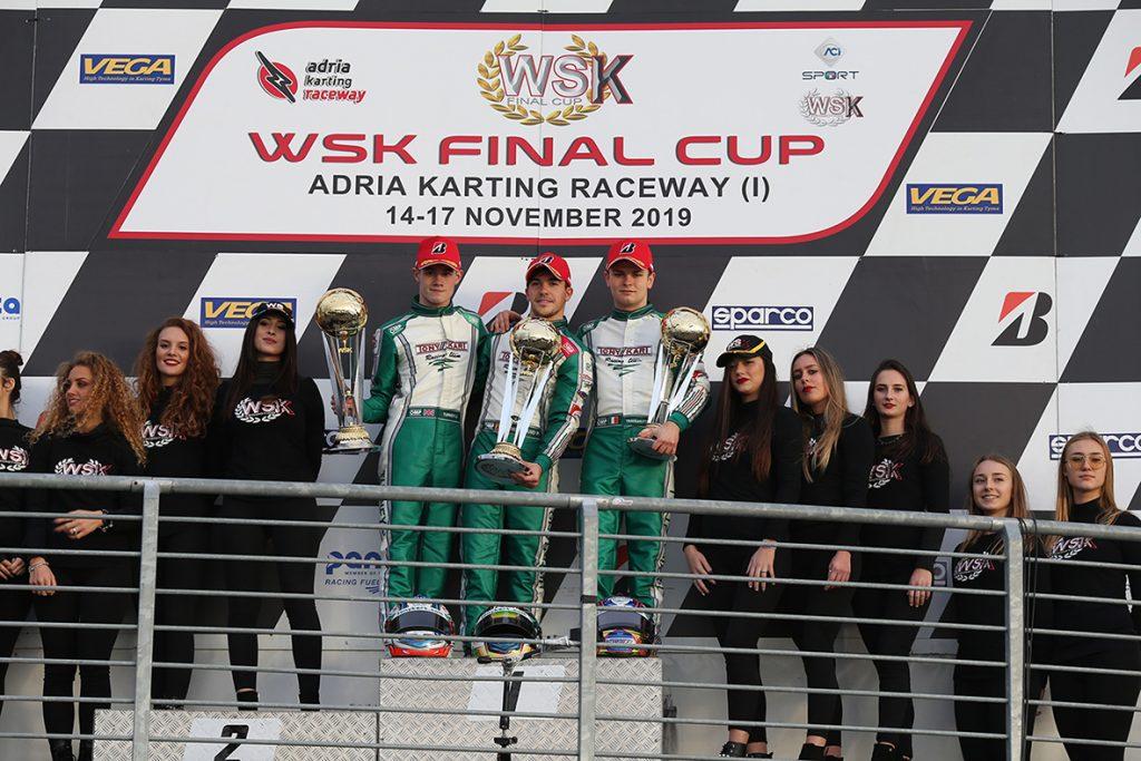 WSK Final Cup – Sunday: Hiltbrand, Antonelli, Matveev & Lundberg victorious at Adria