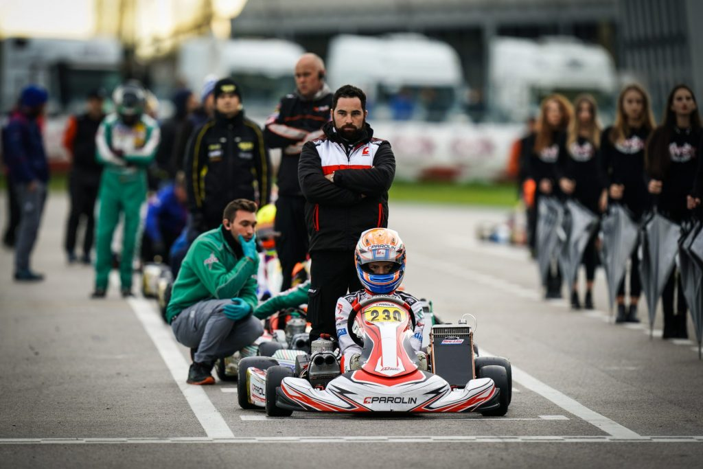 Parolin: Double Final Cup podium in Mini and OK-Junior