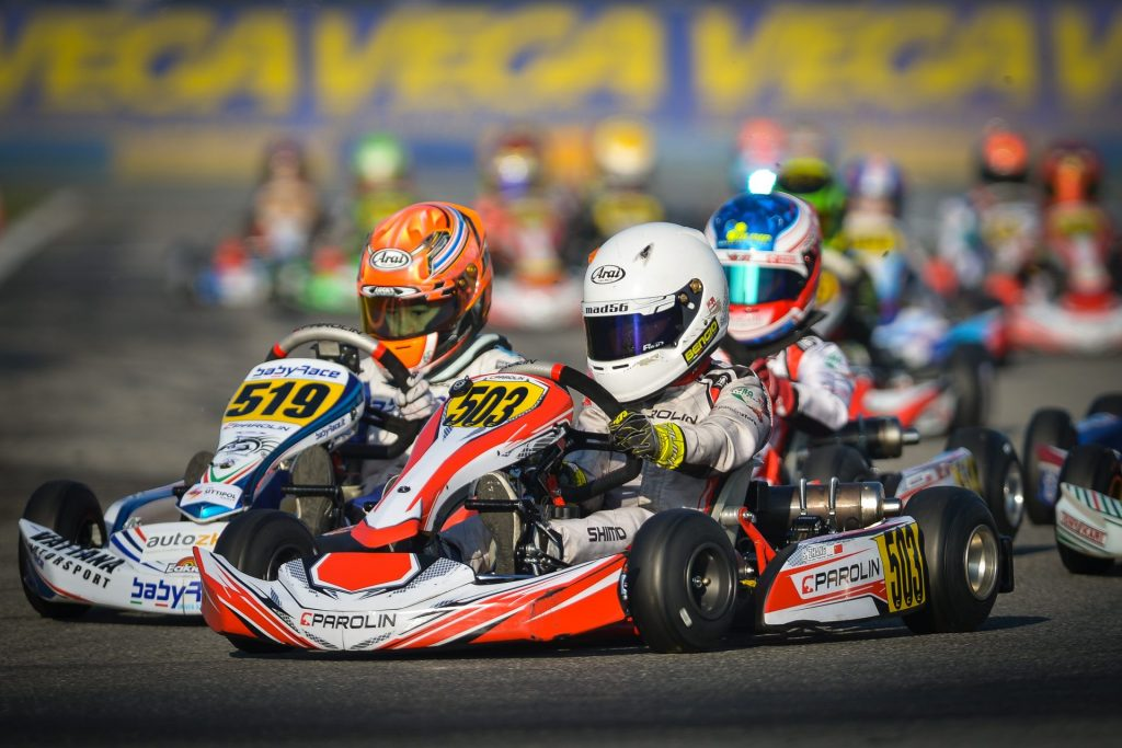 Parolin: On the pace at Castelletto for the WSK Open Cup