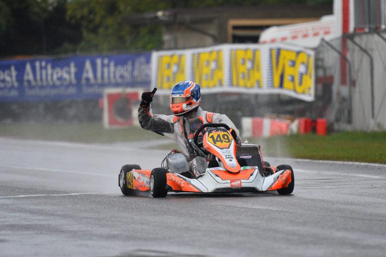 """The """"rain masters"""" triumph at the 48th Trofeo delle Industrie in Lonato"""