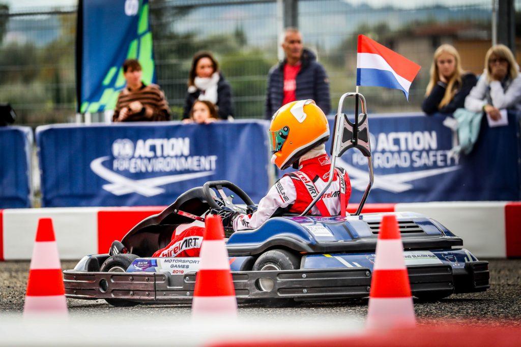 Netherlands' Pothof and Van Loenen win Karting Slalom Cup gold at FIA Motorsport Games