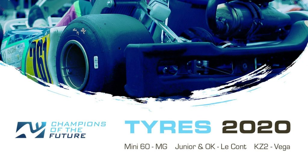 "Tyres for new 2020 ""Champions Of The Future"" Series revealed"