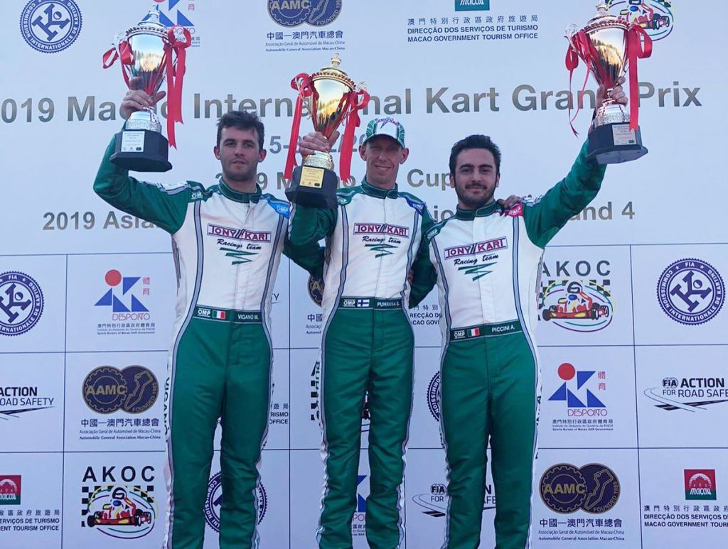 Tony Kart rules over the Macau International Kart Grand Prix
