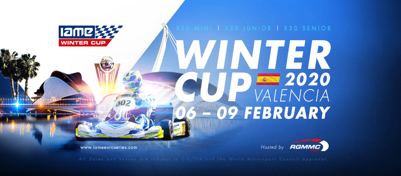 Ready for the 2020 IAME Winter Cup by RGMMC?