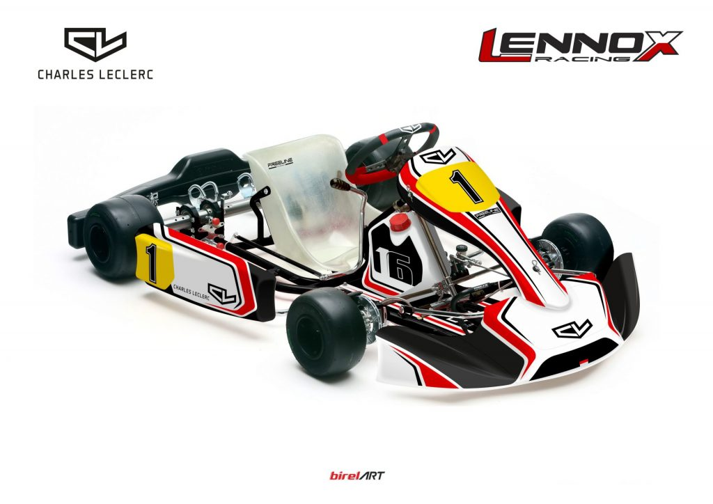 Charles Leclerc by Lennox Racing reveals 2020 driver line-up