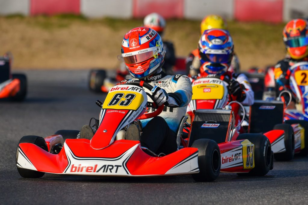 "George Russell : ""Back in karting, it was just pure racing"""
