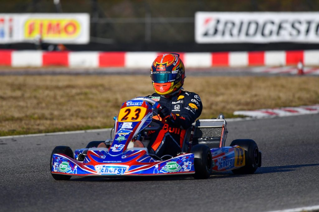 "Alex Albon on his karting days : ""I had good battles with Verstappen"""