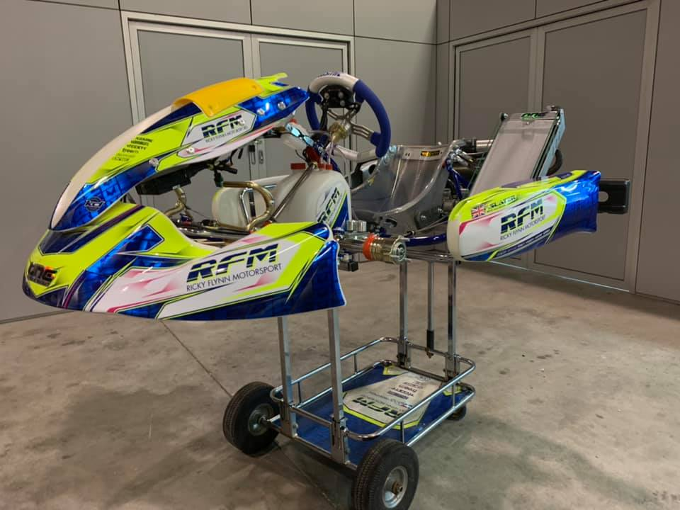 UPDATED: Ricky Flynn Motorsport goes Kosmic for 2020