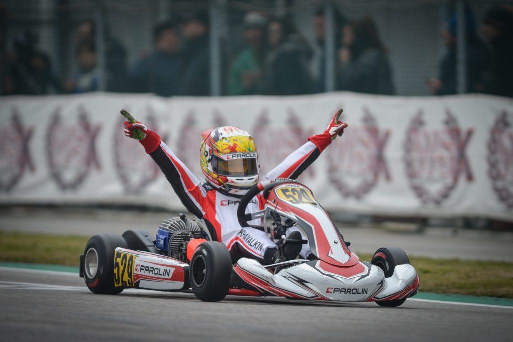 Parolin: Victory at Adria in the European season opener