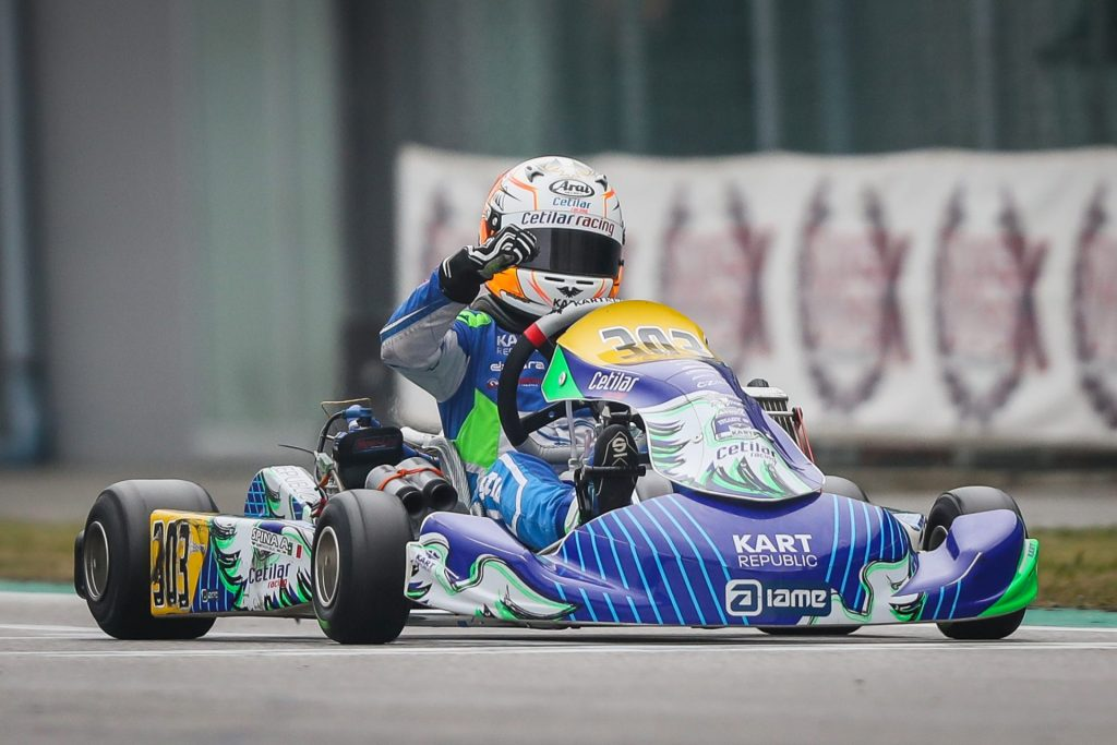 WSK Champions Cup – OK-Junior: Spina off to a successful 2020 debut
