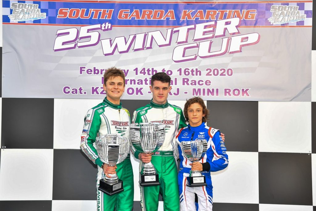 Tony Kart: Victory in 25th South Garda Winter Cup