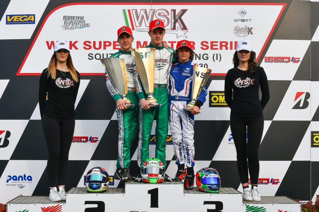 Tony Kart : Second victory at the WSK Super Master Series