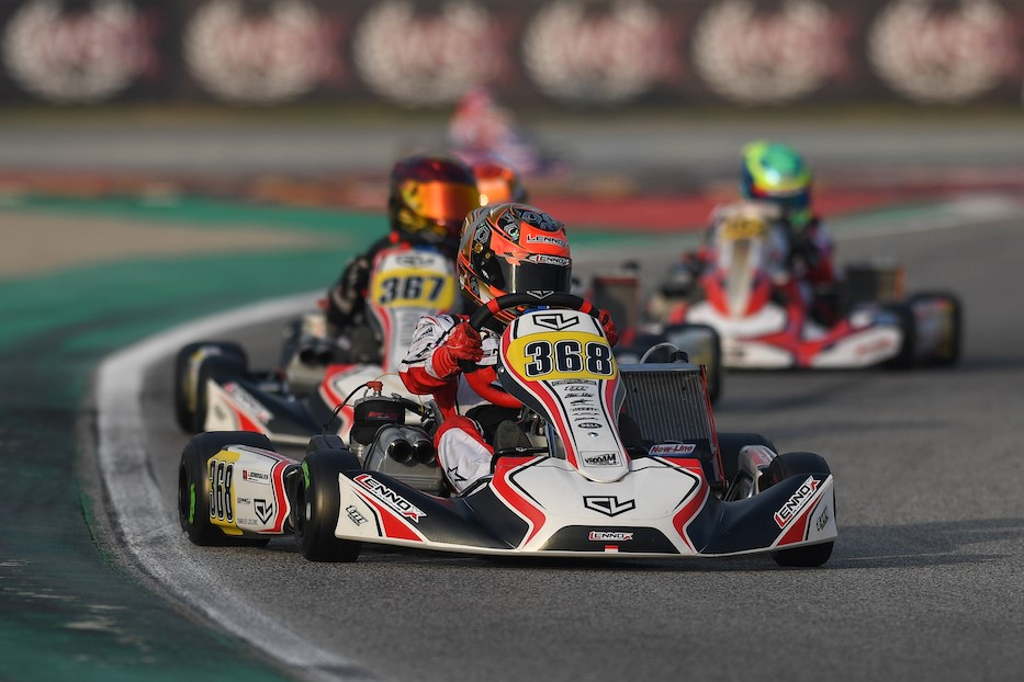 Charles Leclerc by Lennox Racing: Impressive speed levels at season debut