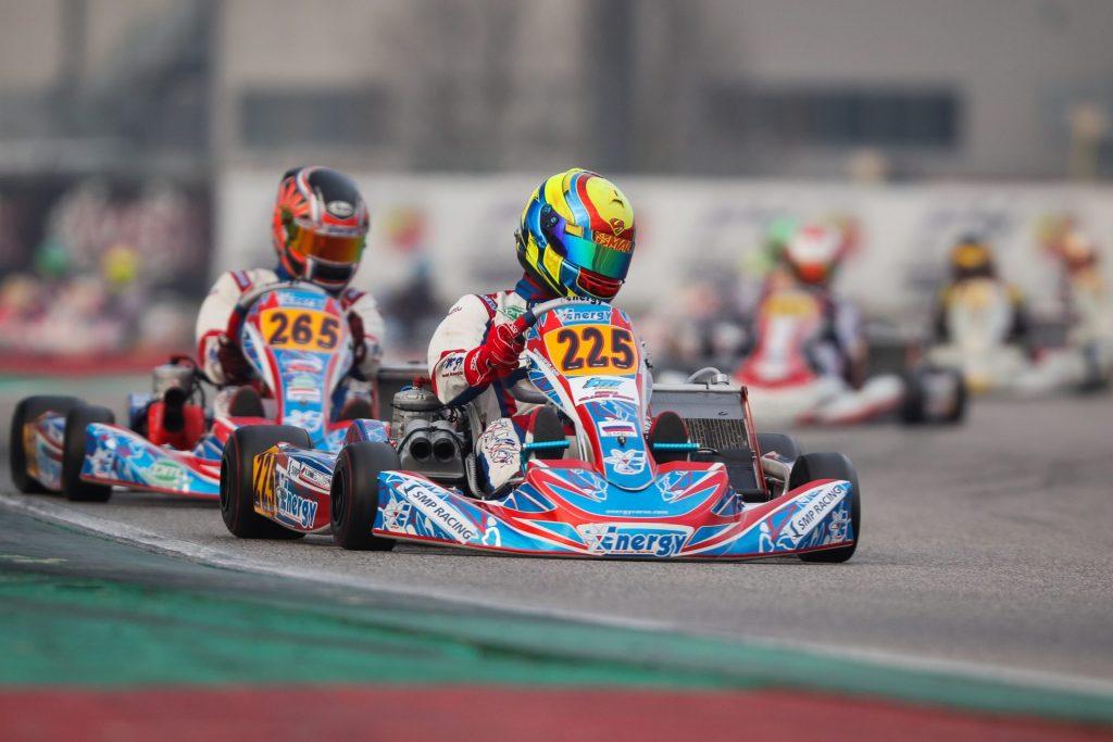 WSK Super Master Series R1 – Saturday: Smal, Lindblad & Foteev provisional leaders at Adria
