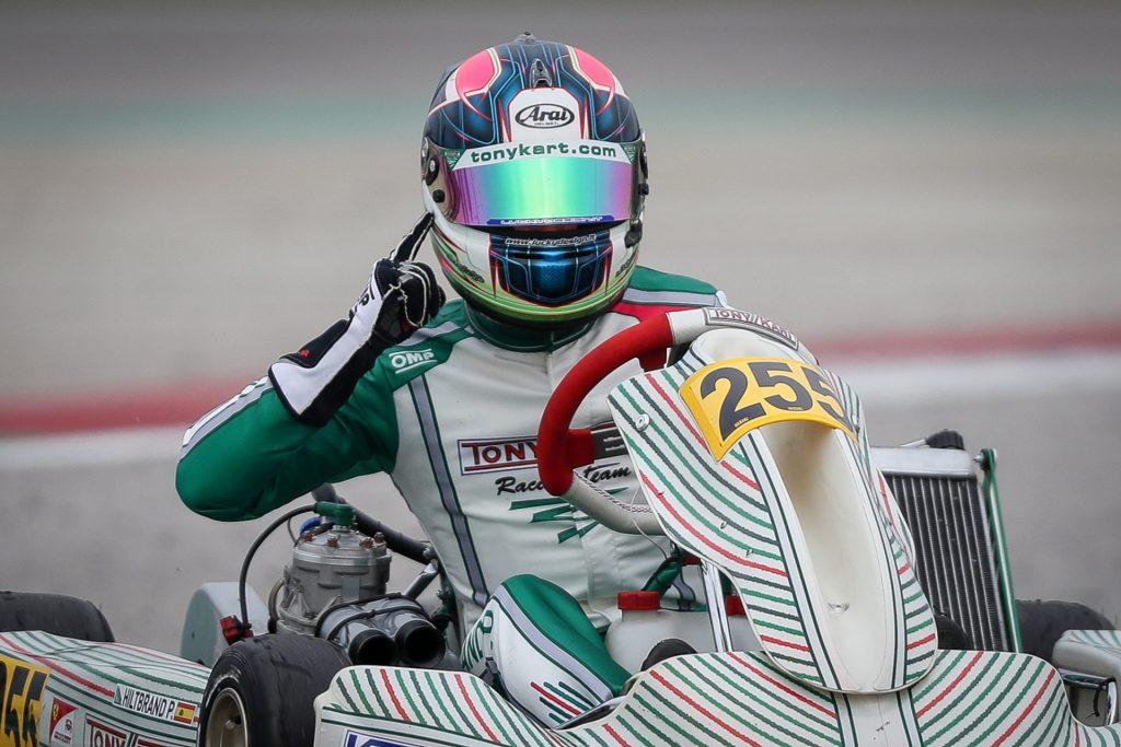 Tony Kart: Winning debut at Adria