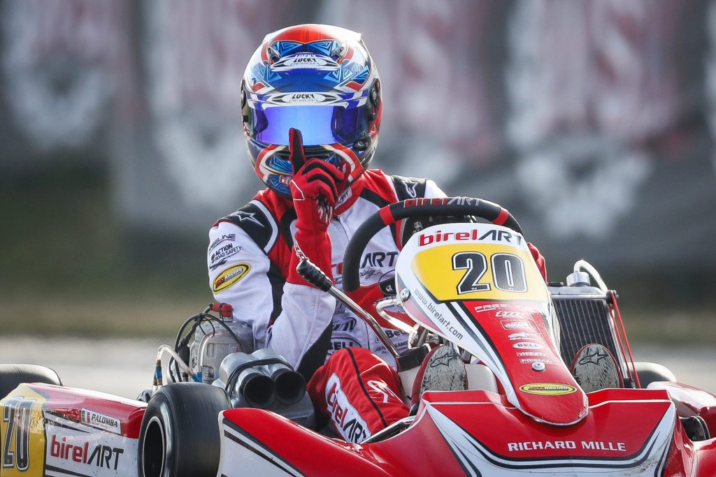 WSK Super Master Series R2 – KZ2: Palomba victorious ahead of Federer & Irlando