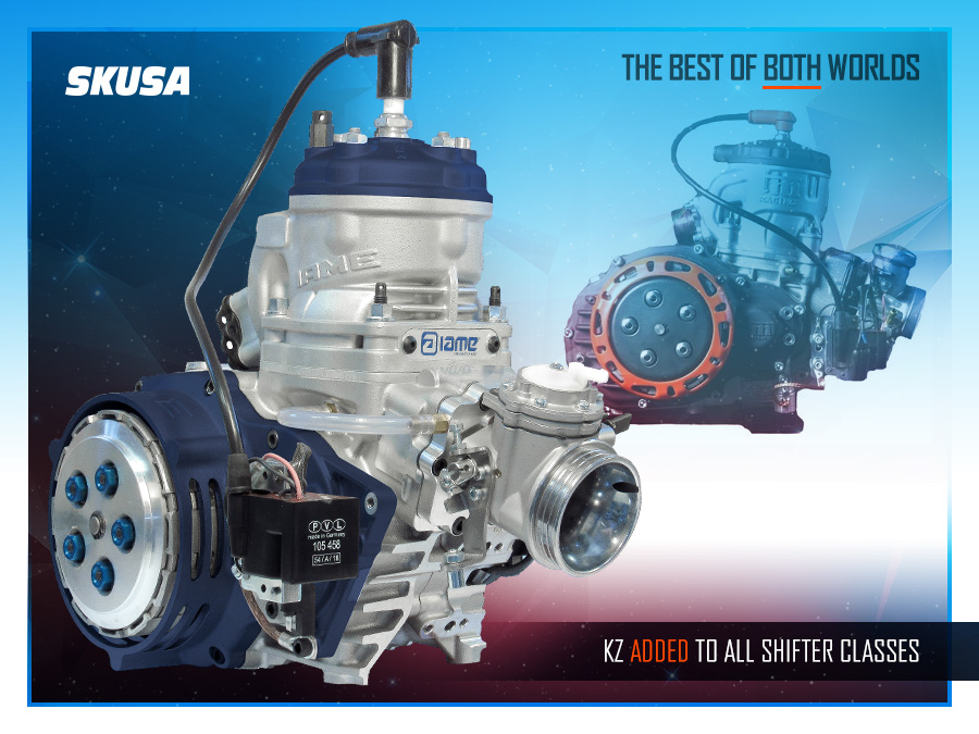 Superkarts! USA to allow KZ engines alongside 175sse in shifter classes from 2020
