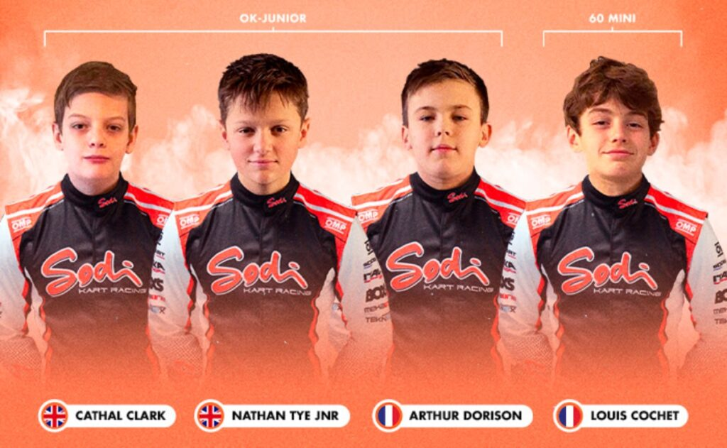 Sodikart unveils 2021 OK-Junior/Mini line-up