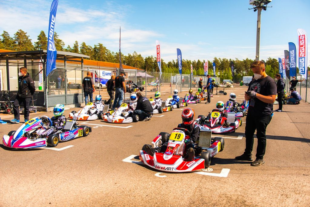 How Kristianstad held 2020's first karting race with social distancing