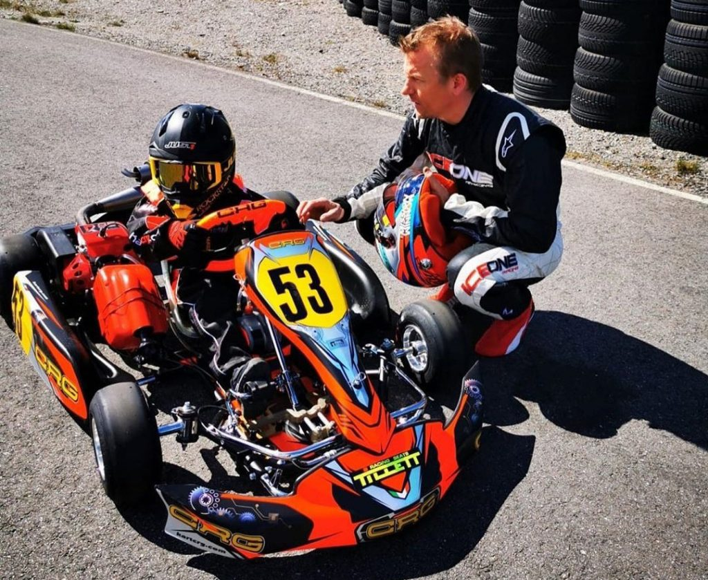 """Kimi Räikkönen: """"If my son asks to compete, I would help him as much as I can"""""""