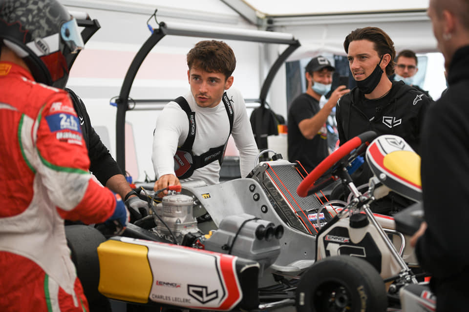 Charles Leclerc teams up with Lennox Racing for track return at Lonato