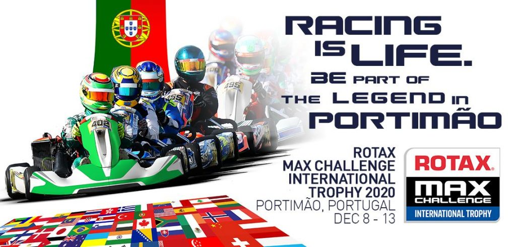 2020 Rotax MAX Challenge International Trophy moves to Portimao in December