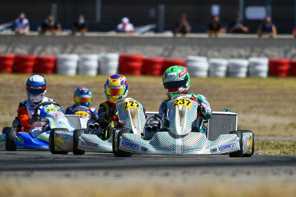 Tony Kart: Competitiveness at Zuera for the Champions of the Future opener