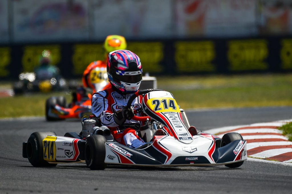 WSK Euro Series – Round 1 / Friday: Gray, Badoer, Egozi & Renaudin set the pace