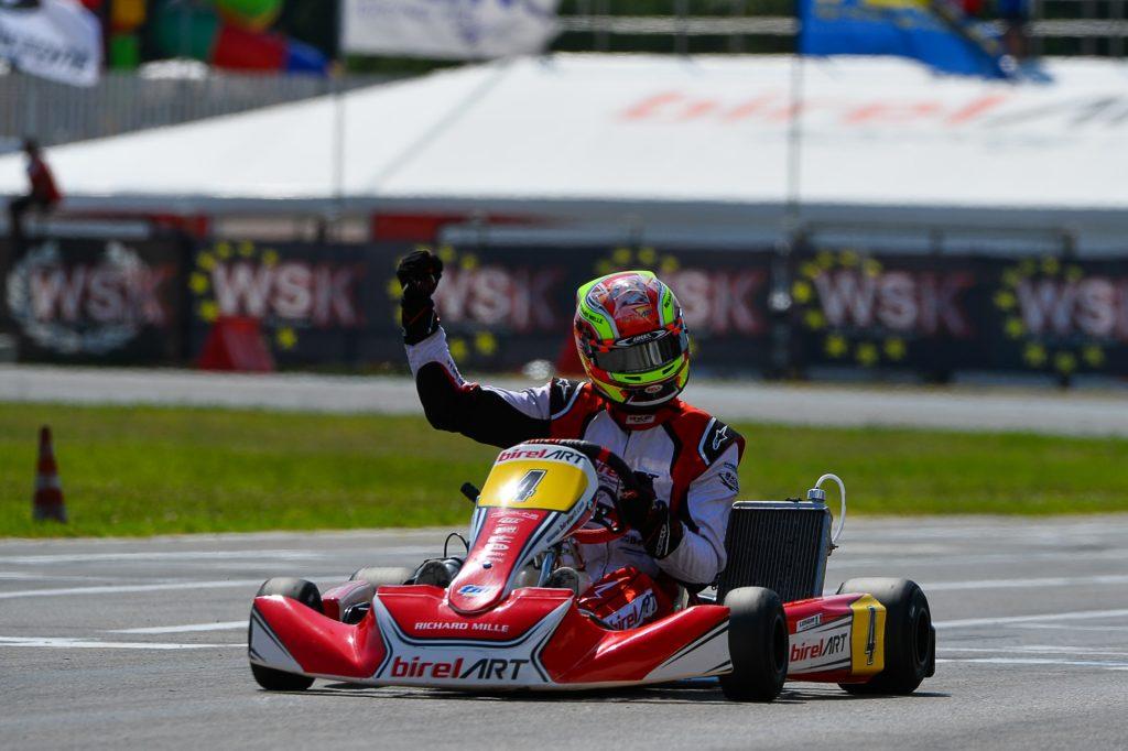 WSK Euro Series – Round 1 / KZ2: Longhi dominates, Renaudin & Palomba on the podium