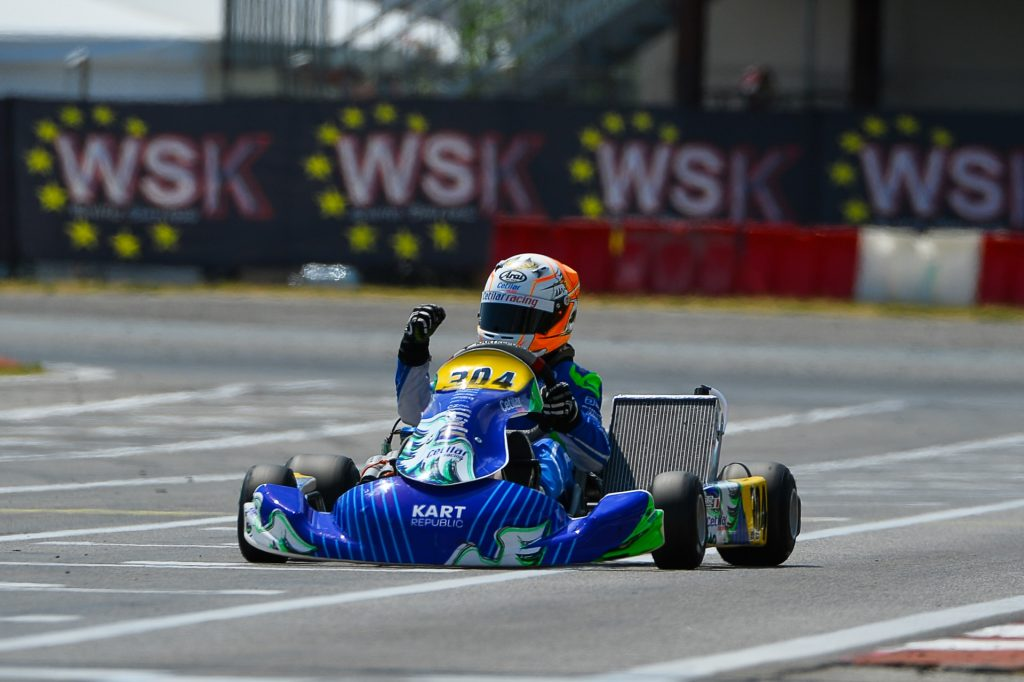 WSK Euro Series – Round 1 / Junior: Spina takes the win against Cepil & Taponen