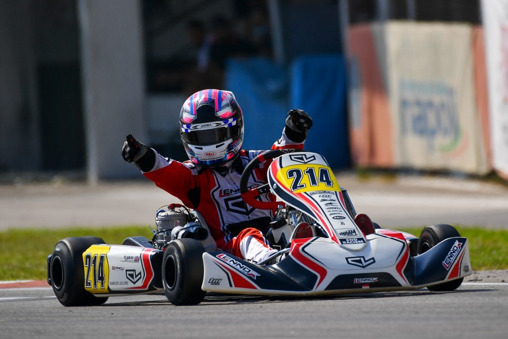 WSK Euro Series – Round 1 / OK: Gray concludes on a high!