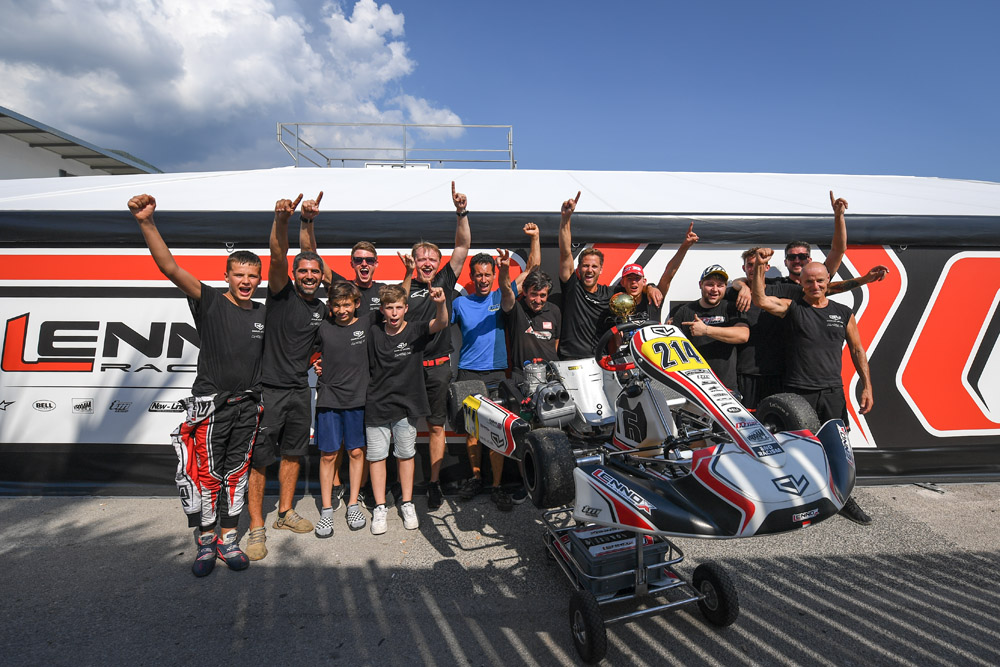 Leclerc by Lennox Racing: First 2020 victory with Oliver Gray at Sarno