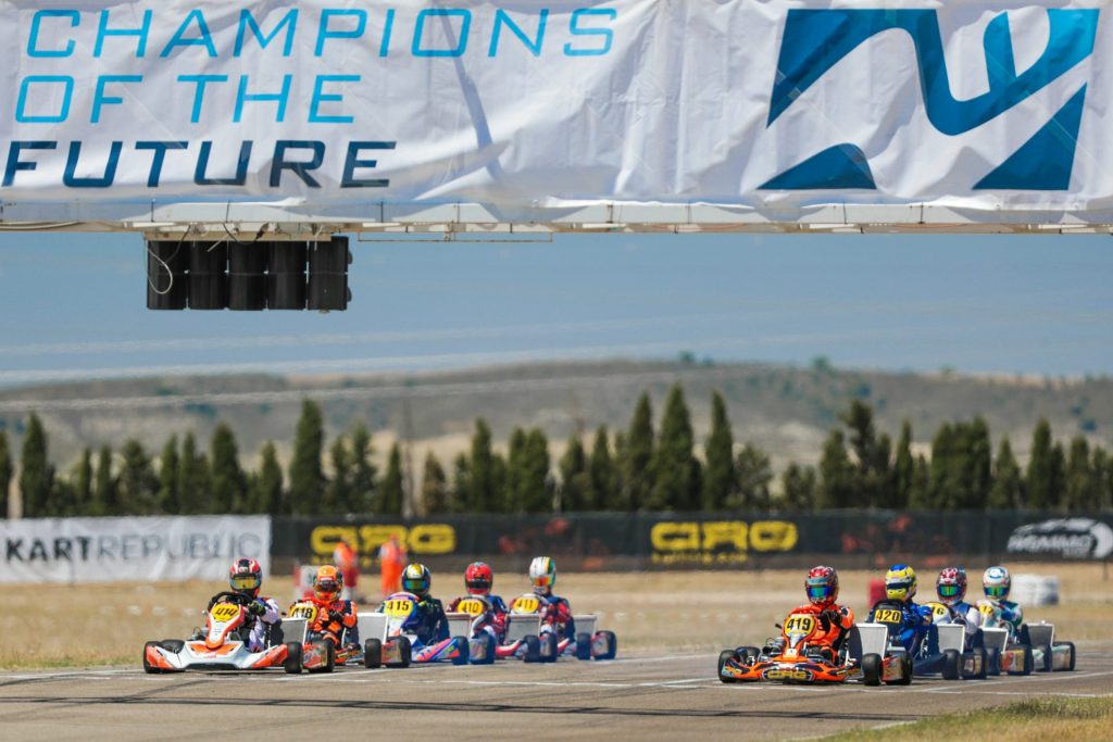 Champions of the Future – Round 1 / KZ2: Ippolito concludes on a high
