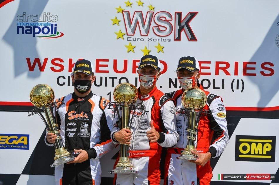 Birel ART: Brilliant KZ2 victory for Longhi in the WSK Euro Series at Sarno