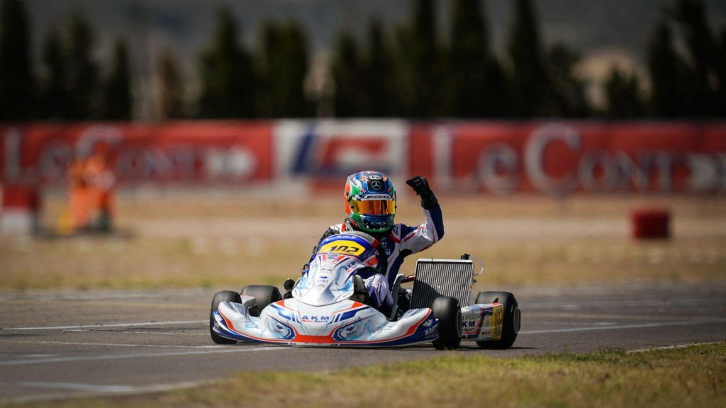FIA Karting European Championship Round 1 – OK: Antonelli edges out Barnard