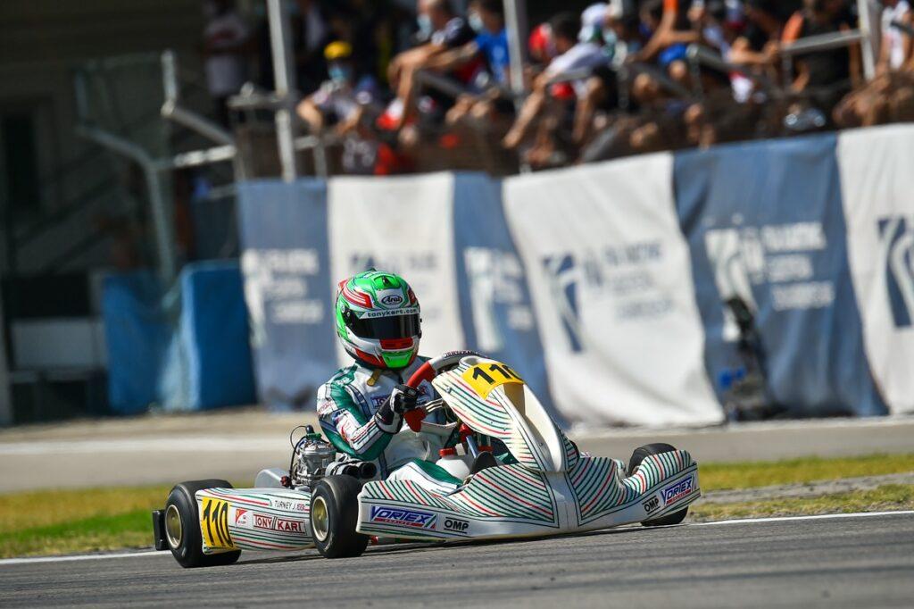 Tony Kart: Another podium in the FIA Karting European Championship