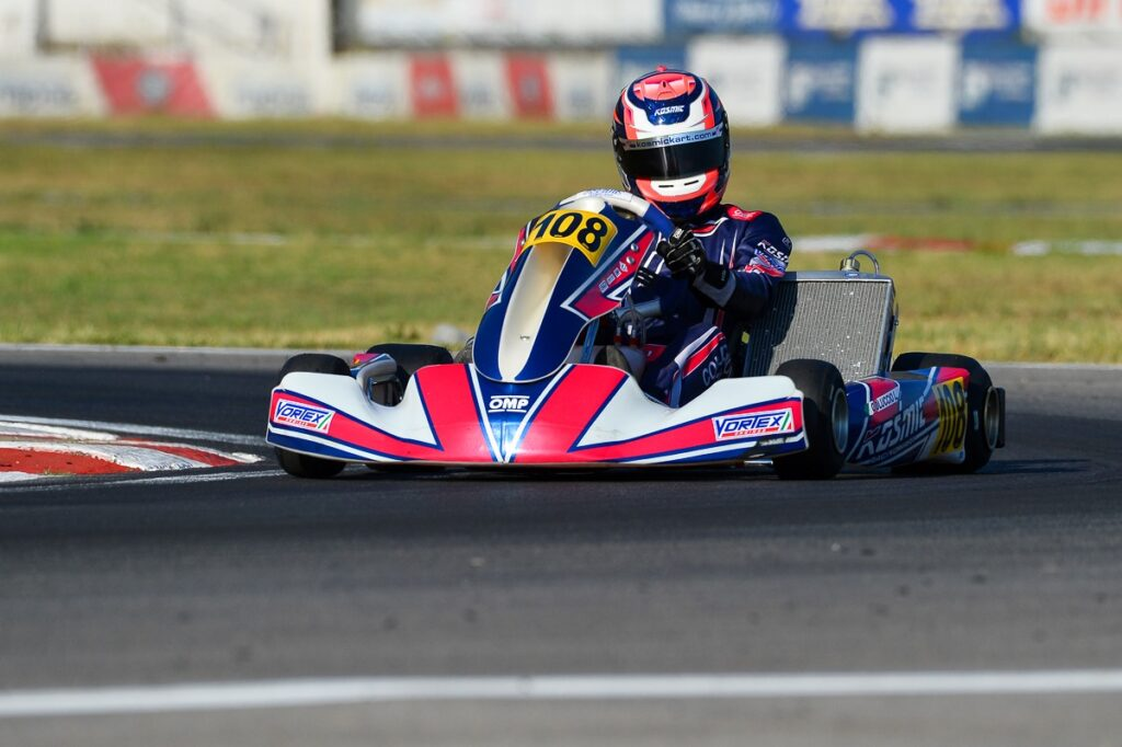 Kosmic Kart: On the podium at Sarno!