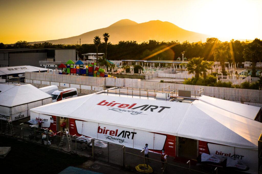 Birel ART: Legitimate disappointment at the foot of Vesuvius