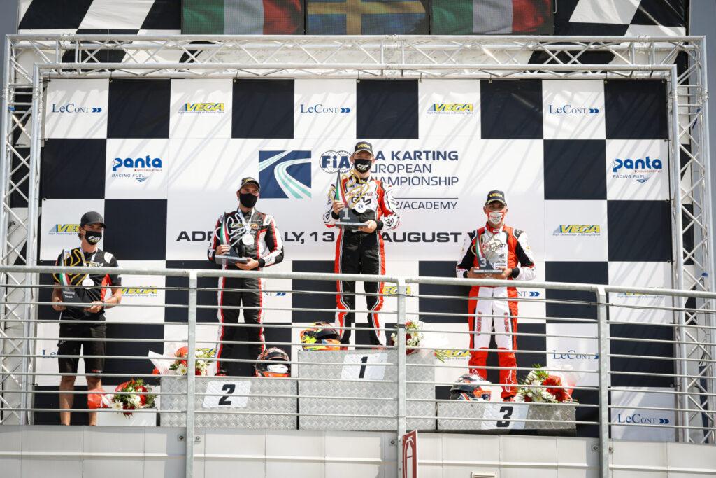 FIA Karting European Championship Round 1 – KZ2: Gustavsson master of Adria