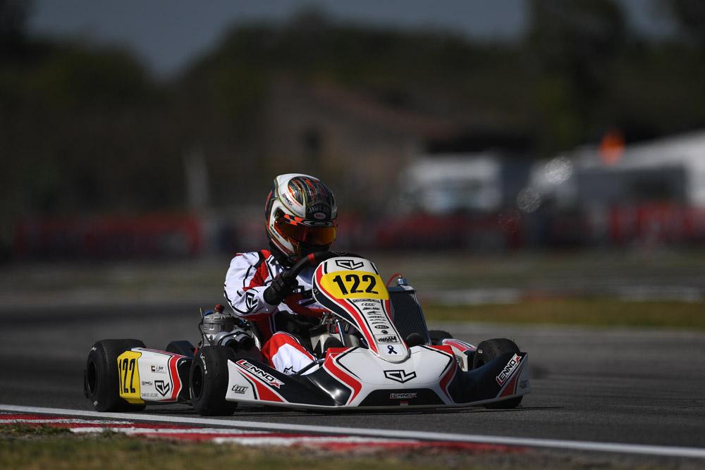 Leclerc by Lennox Racing: Glass half-full at Sarno